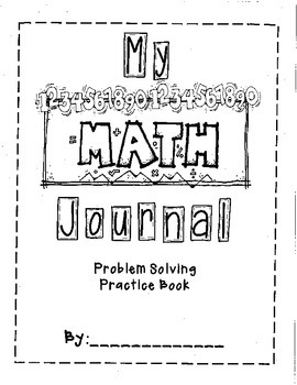 Problem Solving Book- Common Core