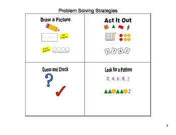 Problem Solving Booklet