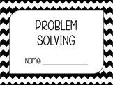 Problem Solving Booklet Cover