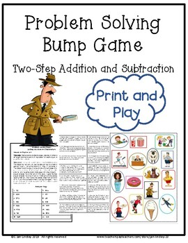 Problem Solving Bump Game Two-Step Add and Subtract