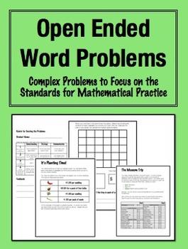 Problem Solving Bundle (20% savings!) Grades 3-5