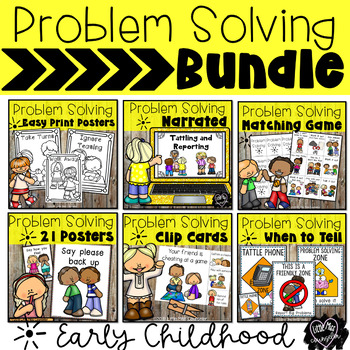 Problem Solving Bundle for Early Childhood