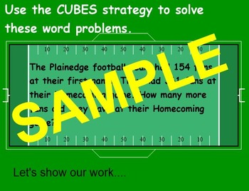 Problem Solving CUBES Strategy