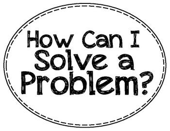 Problem Solving Cards