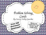 Problem Solving Cards - Played with multi games