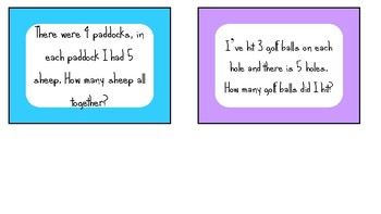 Problem Solving Cards Years 2-4