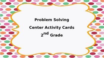 Problem Solving Center Task Cards