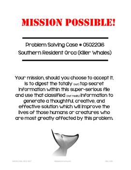 Problem Solving Challenge:  Killer Whales