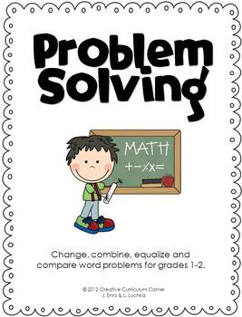 Problem Solving (Change, Combine, Equalize and Compare Wor