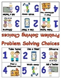 Problem Solving Choice Cards
