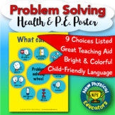 "Problem Solving Choices ""Touchable"" Health and Physical Ed"