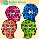 Problem Solving Clip Art {Critical Thinking Skills and Growth Mindset Use}