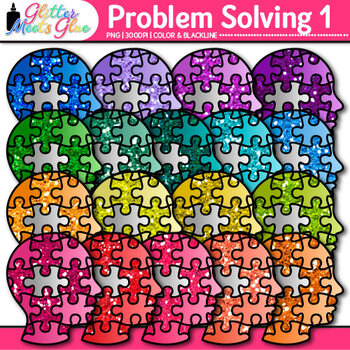 Problem Solving Clip Art | Critical Thinking Skills and Growth Mindset Use