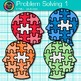 Problem Solving Clip Art {Critical Thinking Skills and Growth Mindset Use} 1
