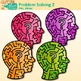 Problem Solving Clip Art | Critical Thinking Skills and Growth Mindset Use 2