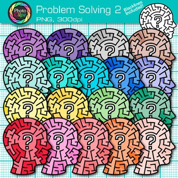 Problem Solving Clip Art {Critical Thinking Skills and ...