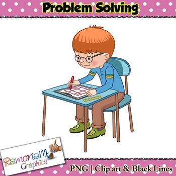 Problem Solving Clip art