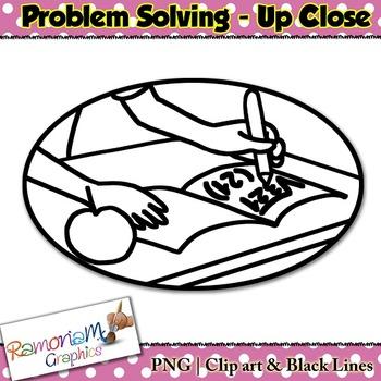 Problem Solving Clip art