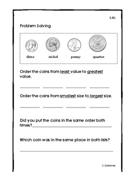 Problem Solving-Coin Attributes