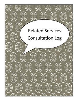 Problem Solving Consultation Log