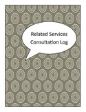 Problem Solving Consultation Log