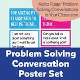 Problem Solving Conversation Poster Set