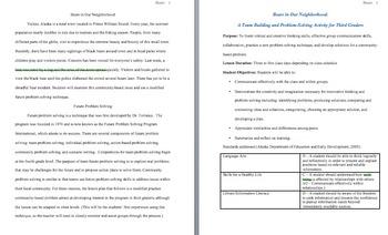 Problem Solving & Creativity: Solving a Real Problem - Informational Text