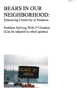 Problem Solving & Creativity: Solving a Real Problem - Inf