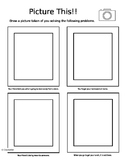 Problem Solving Decision Making Activity PBIS Character Ed Worksheet