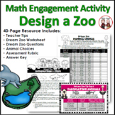 Problem Solving Design Zoo Math Activity