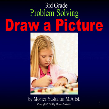 Common Core 3rd - Problem Solving - Draw a Picture