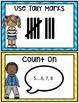 Kindergarten Math Journals: February Story Problems