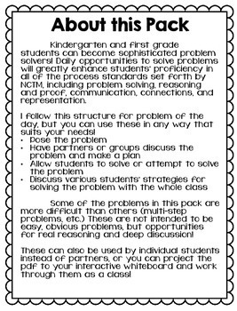 Problem Solving Every Day: January Math Problems