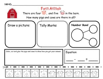 Problem Solving - Farm Animals