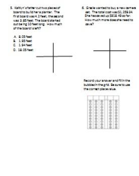 Problem Solving - Fifth Grade