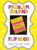 Problem Solving Flip book