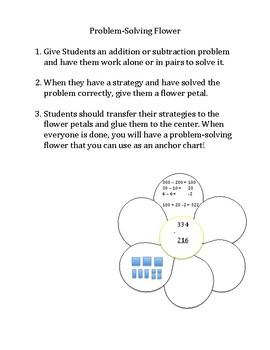 Problem Solving Flower