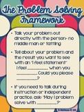 Problem Solving Framework Poster