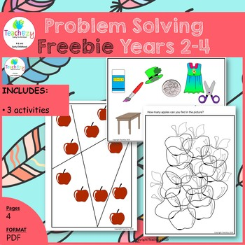 Problem Solving Freebie Years 2-4