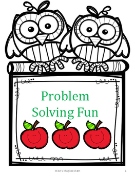 Fall Problem Solving Fun