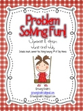 Problem Solving Fun! Summer Edition {June and July}