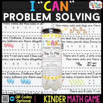 Kindergarten Problem Solving | Kindergarten Math Centers