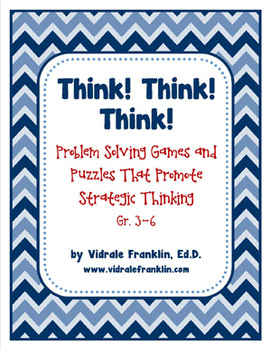 Problem Solving Games and Puzzles