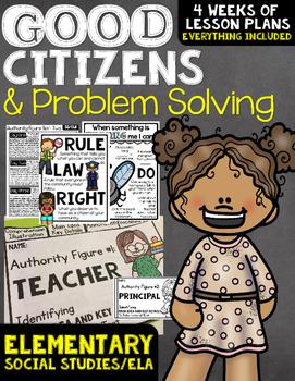 Problem Solving Good Citizen Non-Fiction Unit