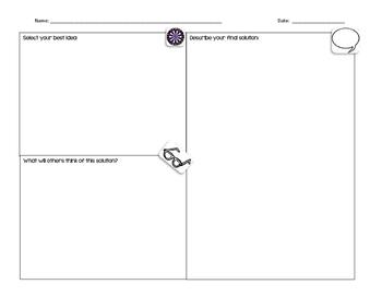 Problem Solving Graphic Organizer #2