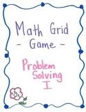 Problem Solving Grid Game