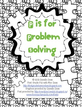 Problem Solving Group Activity