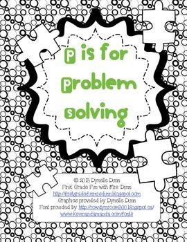 Problem Solving Group Activity