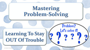 Problem-Solving Guidance Lesson Powerpoint w Elmo Video link & Activities