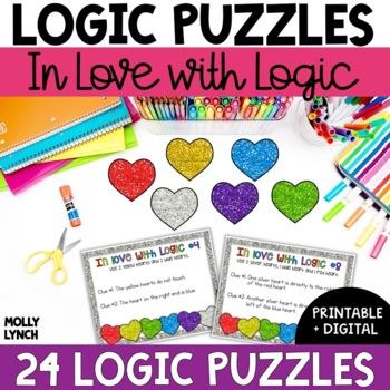 Problem Solving Hearts {Logic Puzzles}
